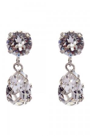Νυφικά σκουλαρίκια από κρύσταλλα OR3158