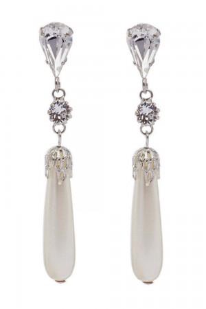 Νυφικά σκουλαρίκια από κρύσταλλα OR3245PER