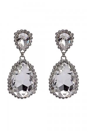 Νυφικά σκουλαρίκια από κρύσταλλα OR3325