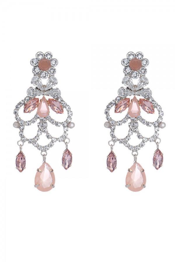 Νυφικά σκουλαρίκια από κρύσταλλα OR3430